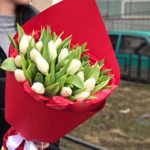 Рай тюльпанов: букеты цветов на заказ Flowwow