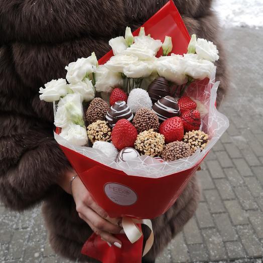 Яркий и воздушный: букеты цветов на заказ Flowwow