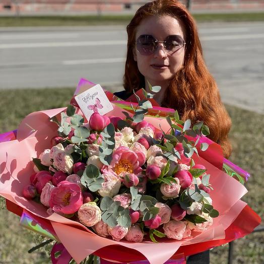 Букет Бернар: букеты цветов на заказ Flowwow