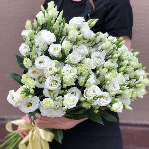 Монобукет из эустом: букеты цветов на заказ Flowwow