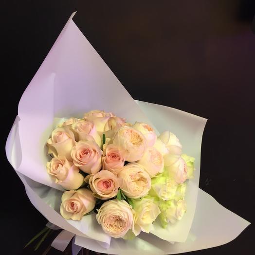 Букет из ароматной розы: букеты цветов на заказ Flowwow
