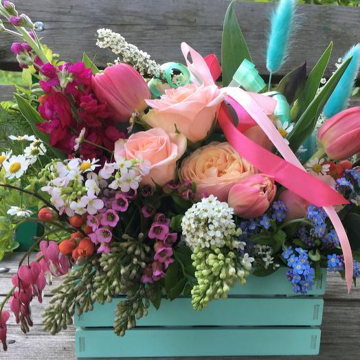 Клумба бирюзовая: букеты цветов на заказ Flowwow