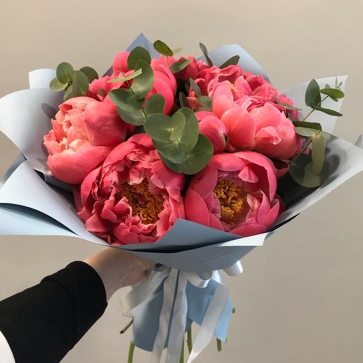 Корал Сансет: букеты цветов на заказ Flowwow