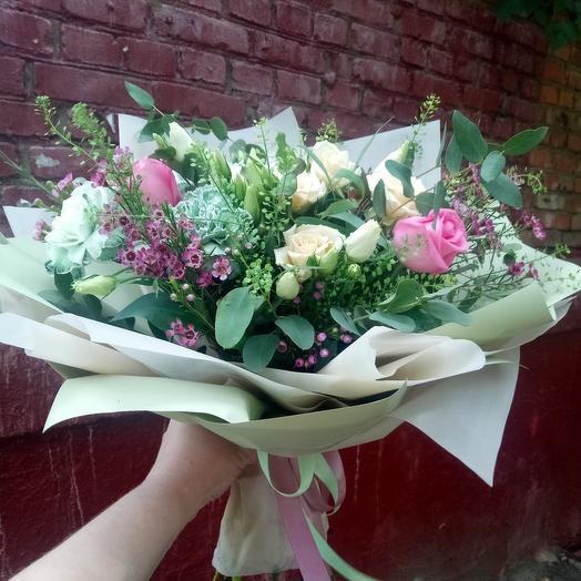 Летняя свежесть: букеты цветов на заказ Flowwow