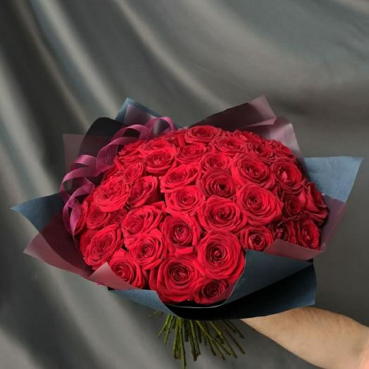 """Букет""""51 красная роза"""""""
