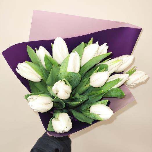 Букет ароматных тюльпан 15 ХИТ