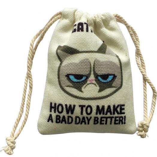 Игрушка Grumpy cat для кошек с кошачьей мятой