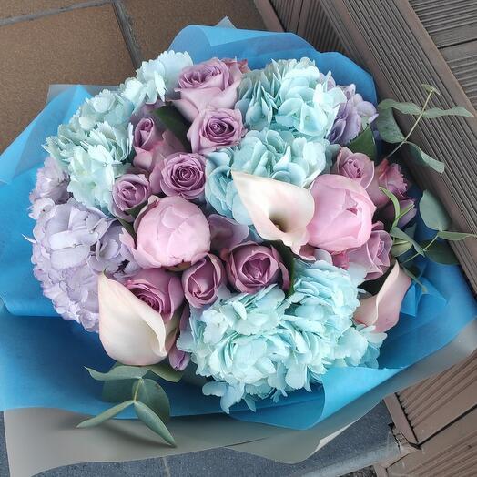 Букет цветов Пешком до счастья