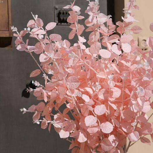 Эвкалипт искусственный розовый