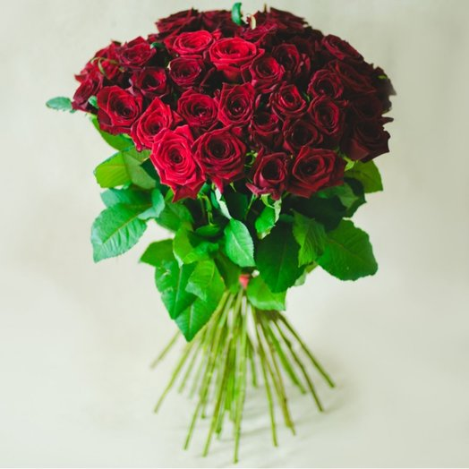 45 red roses: flowers to order Flowwow