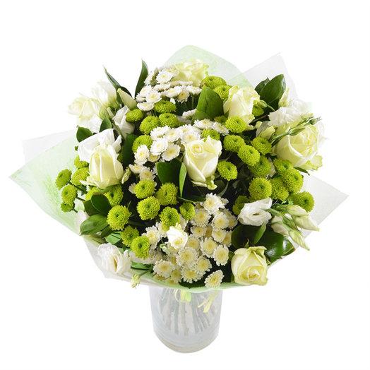РОЗА И ХРИЗАНТЕМА: букеты цветов на заказ Flowwow