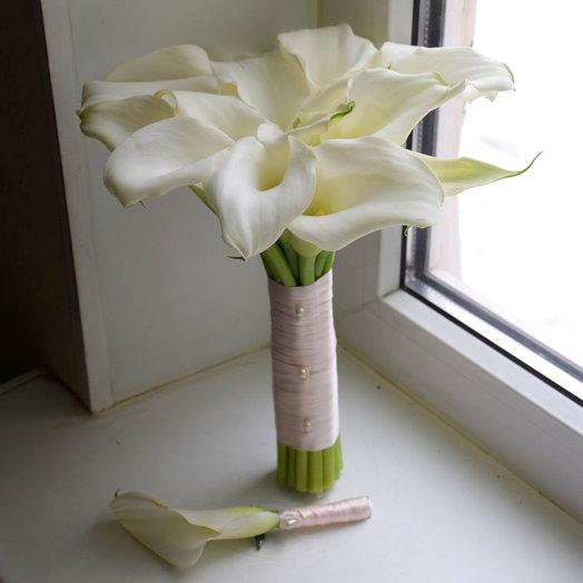 Нежный букет невесты: букеты цветов на заказ Flowwow
