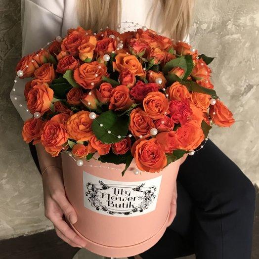 Жемчужный закат: букеты цветов на заказ Flowwow
