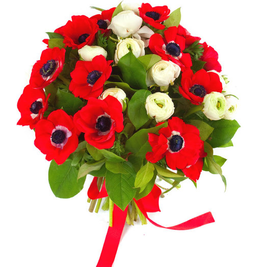 Букет «Красные маки»: букеты цветов на заказ Flowwow