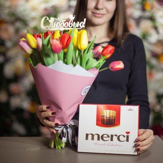 С Любовью! : букеты цветов на заказ Flowwow