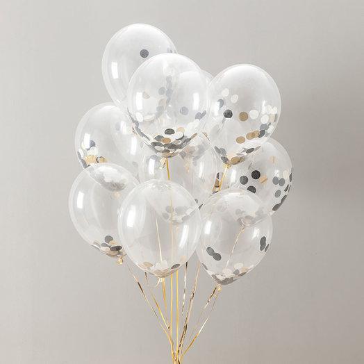 """Букет из шаров """"Конфети"""": букеты цветов на заказ Flowwow"""