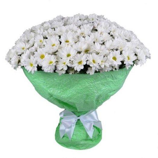 Букет из 51 кустовой хризантемы: букеты цветов на заказ Flowwow