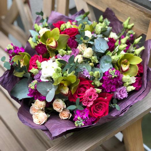 Лучезарная улыбка : букеты цветов на заказ Flowwow