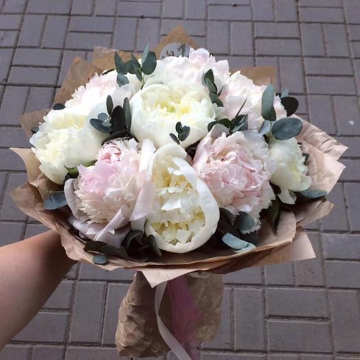 Пионовый рожок: букеты цветов на заказ Flowwow
