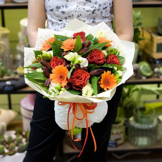 "Букет цветов ""Фиона"": букеты цветов на заказ Flowwow"
