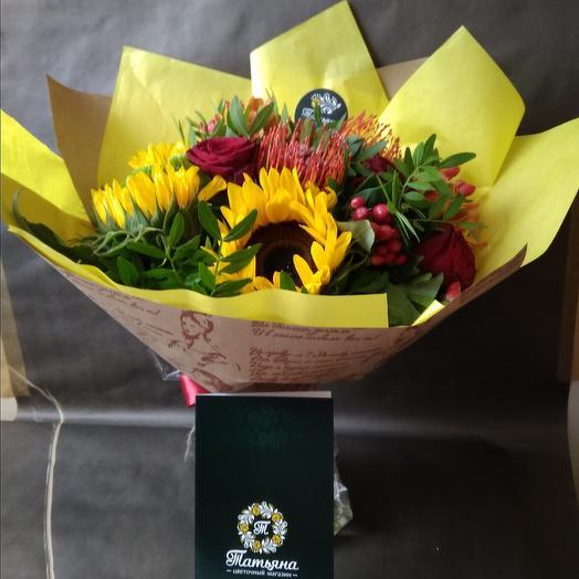 Сентябрина: букеты цветов на заказ Flowwow