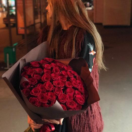 Букет роз ред наоми: букеты цветов на заказ Flowwow