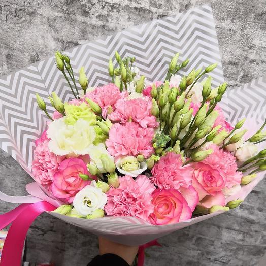 Роскошный розовый: букеты цветов на заказ Flowwow