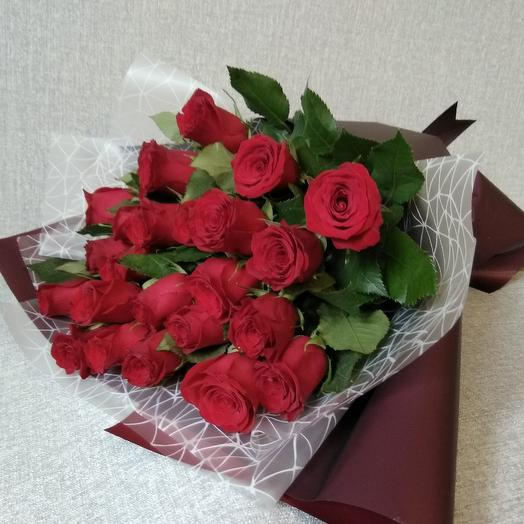 """Букет """"Люблю"""": букеты цветов на заказ Flowwow"""