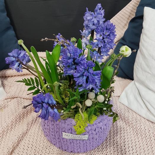Весна у вас дома: букеты цветов на заказ Flowwow