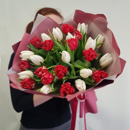 Алый: букеты цветов на заказ Flowwow