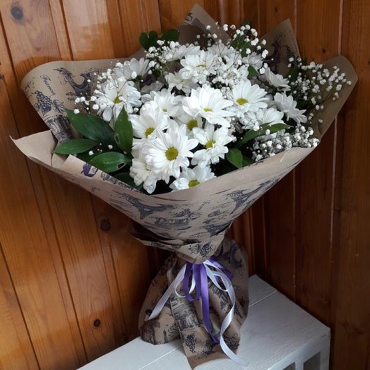 Ромашки для любимой: букеты цветов на заказ Flowwow