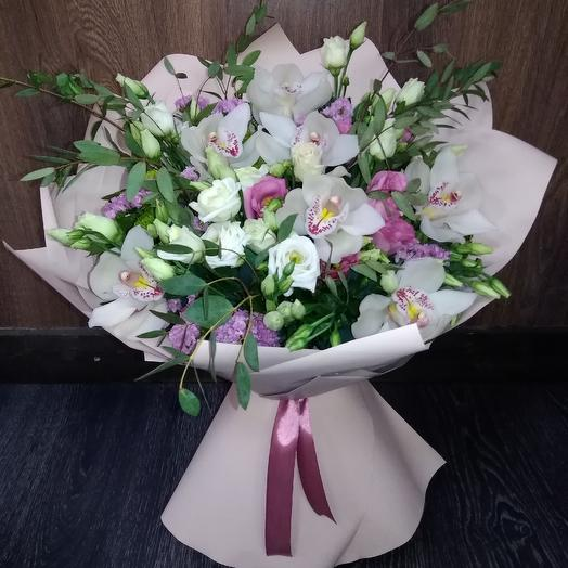 """Букет""""Маршмеллоу"""": букеты цветов на заказ Flowwow"""