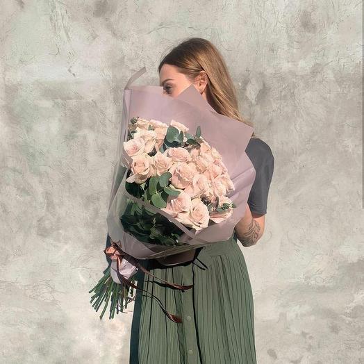 Розовое счастье💞: букеты цветов на заказ Flowwow