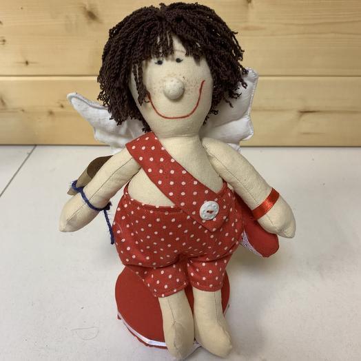 Купидон ( кукла Тильда): букеты цветов на заказ Flowwow