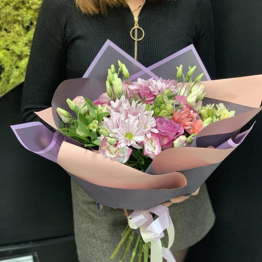 Сиреневое утро: букеты цветов на заказ Flowwow