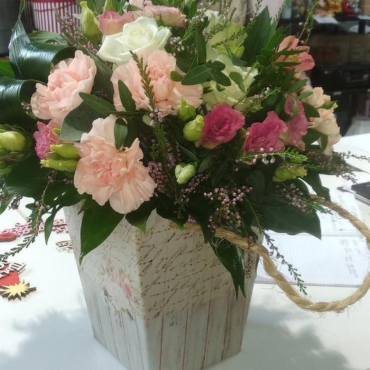 Привет подруге: букеты цветов на заказ Flowwow