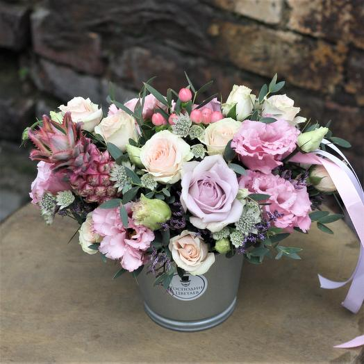 Закат на Сен-Луиджи: букеты цветов на заказ Flowwow