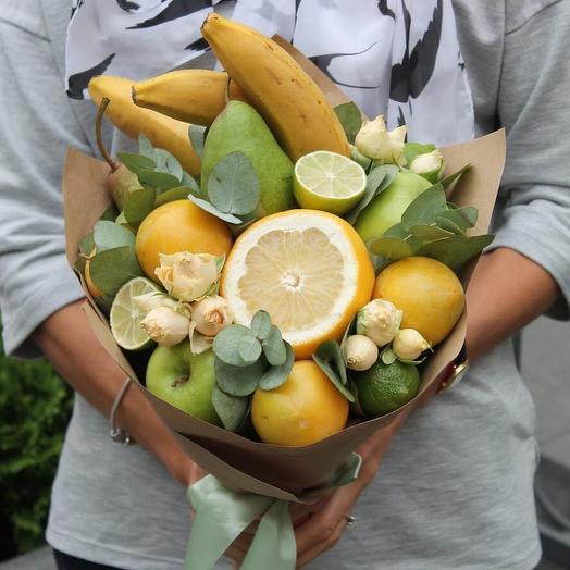 Цитрус и дюшес: букеты цветов на заказ Flowwow