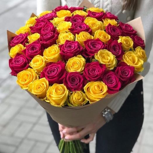 """Букет роз """"Вселенная"""""""