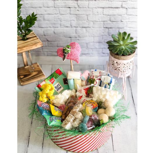 Сладкий набор «33 удовольствия»: букеты цветов на заказ Flowwow