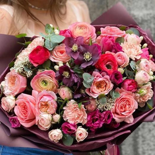 Букет цветов «Наслаждение»