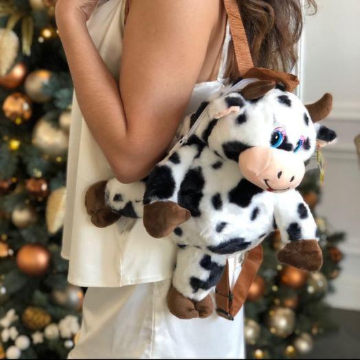 Рюкзак коровка