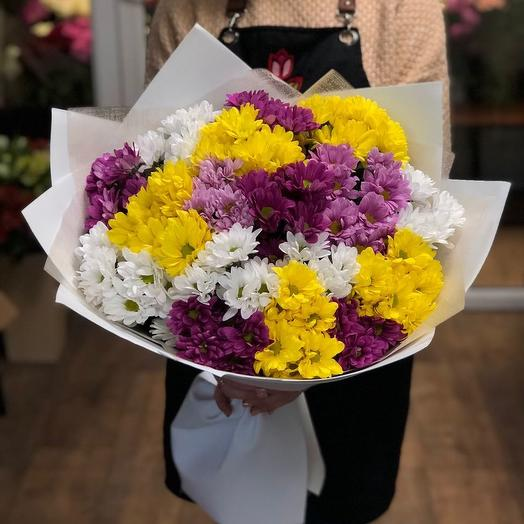 Охапка цветов
