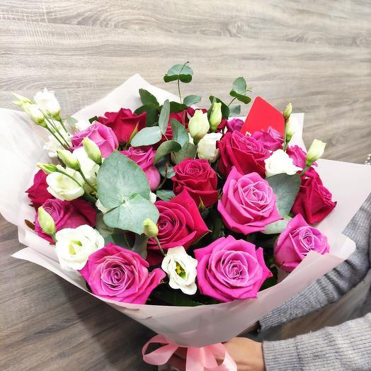✅ Авторский букет из роз 💐