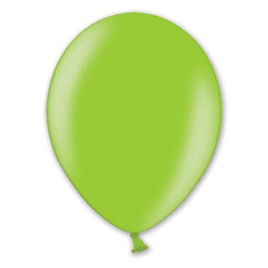 """Шар с гелием 12""""/30 см зеленый металлик"""