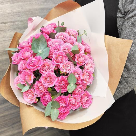 """✅ Букет кустовой розы """"Лиана"""""""
