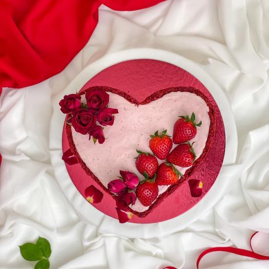 Торт-чизкейк «Мое Сердце»