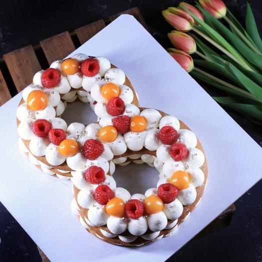 Медовый торт «8 марта»