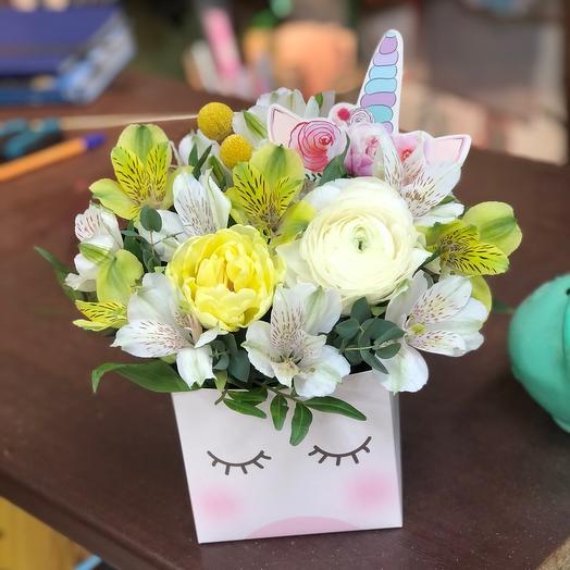 Коробочка с цветами