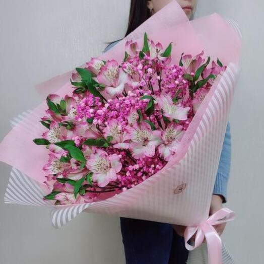 Букет «Розовое чудо»